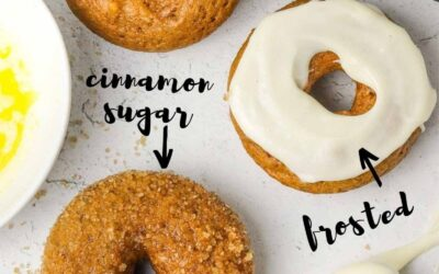 the best baked pumpkin donuts.