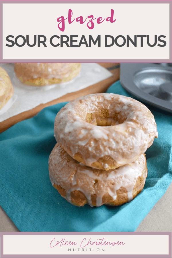 glazed sour cream donuts