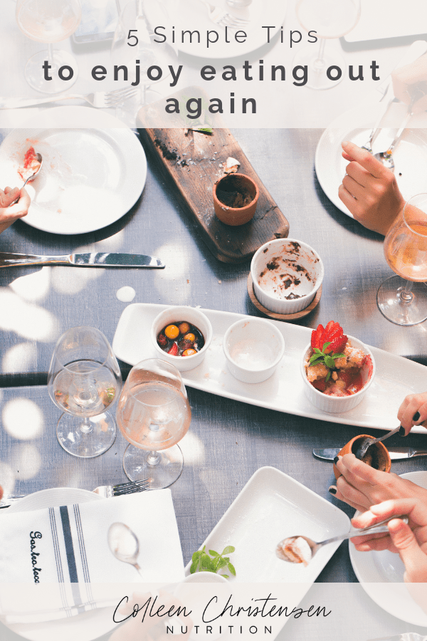 5 tips to enjoy eating out again