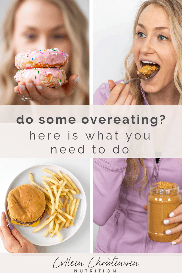 what to do after over eating