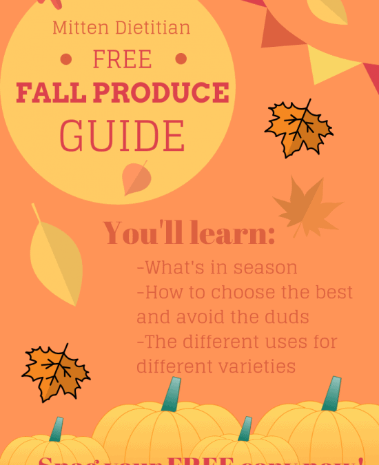 Free Fall Produce Guide