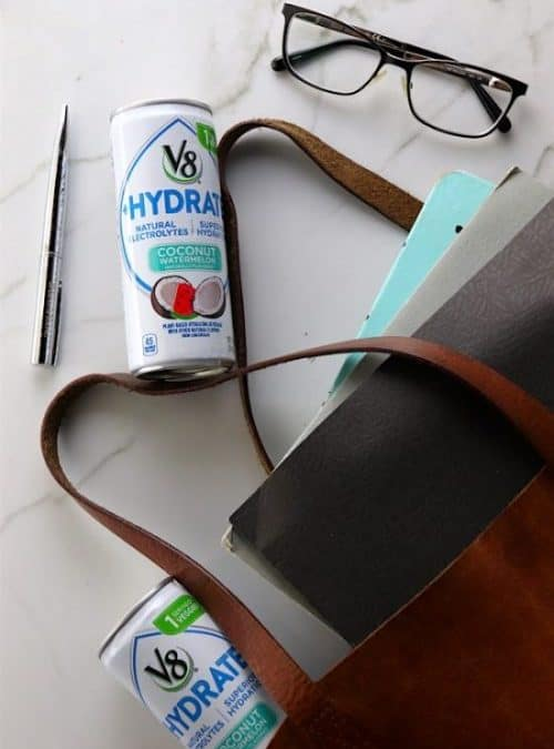 Plant Based Hydration: V8 + Hydrate