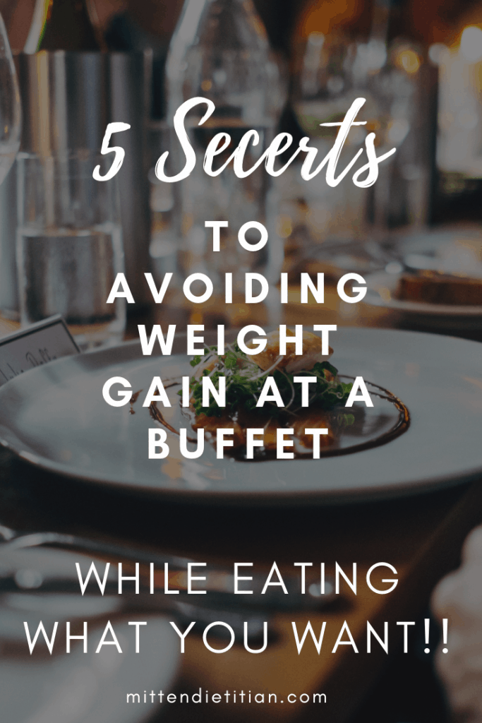 Finally! The secrets to eating what you want at a buffet or on an inclusive vacation while staying healthy and avoiding weight gain!