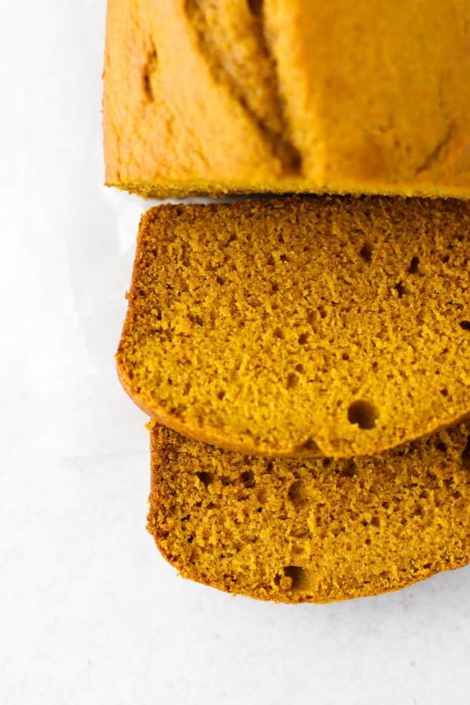 one bowl pumpkin bread