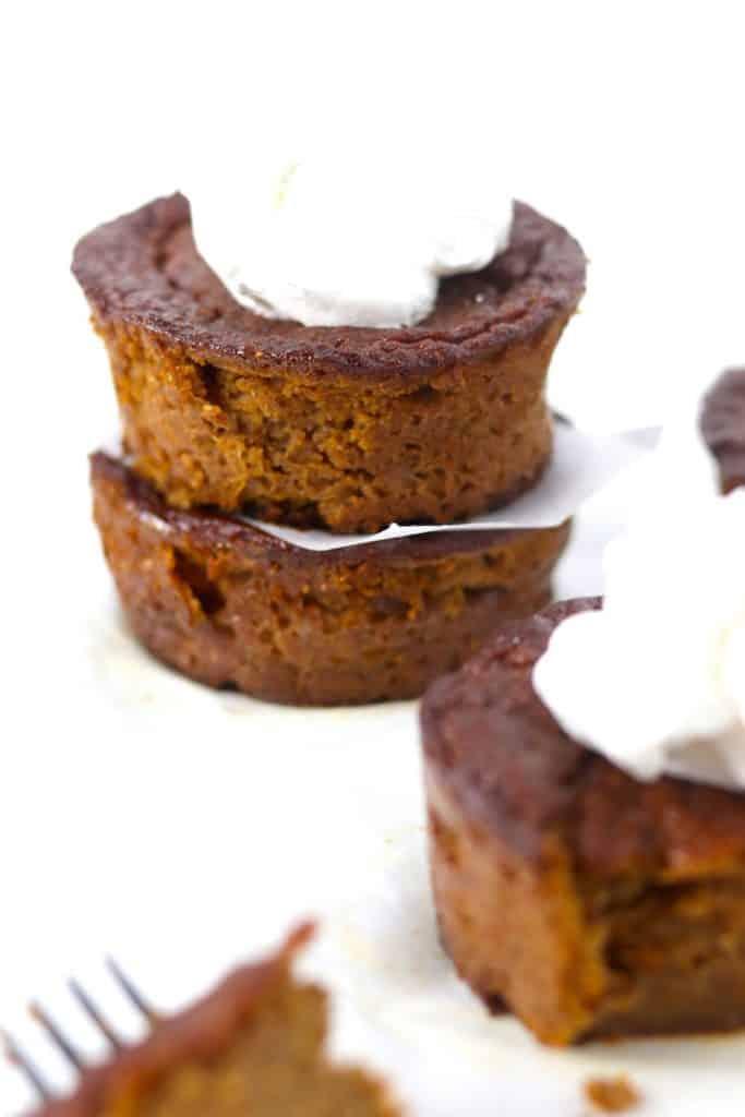 gluten & dairy free mini pumpkin pies