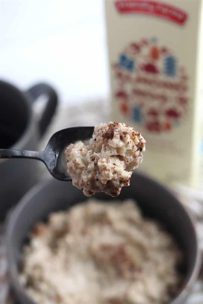 eggnog cauli-oats