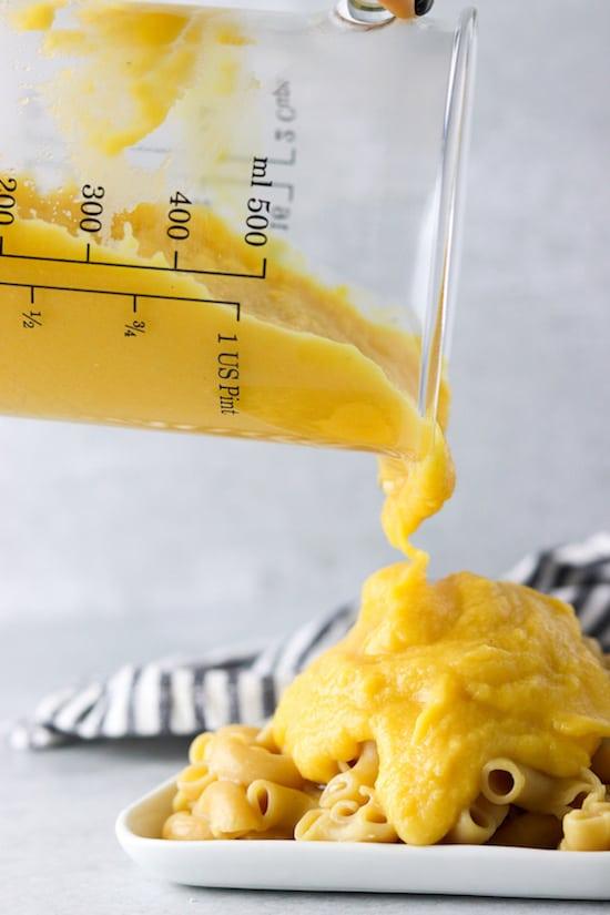 butternut squash cheese sauce