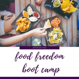 5 week Food Freedom Boot Camp