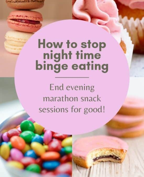 How To Stop Night Time Binge Eating