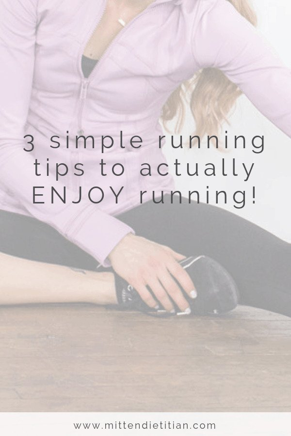 Enjoy running again