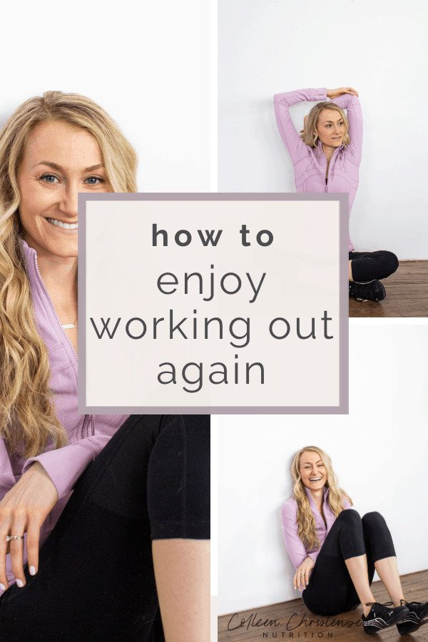 enjoy working out