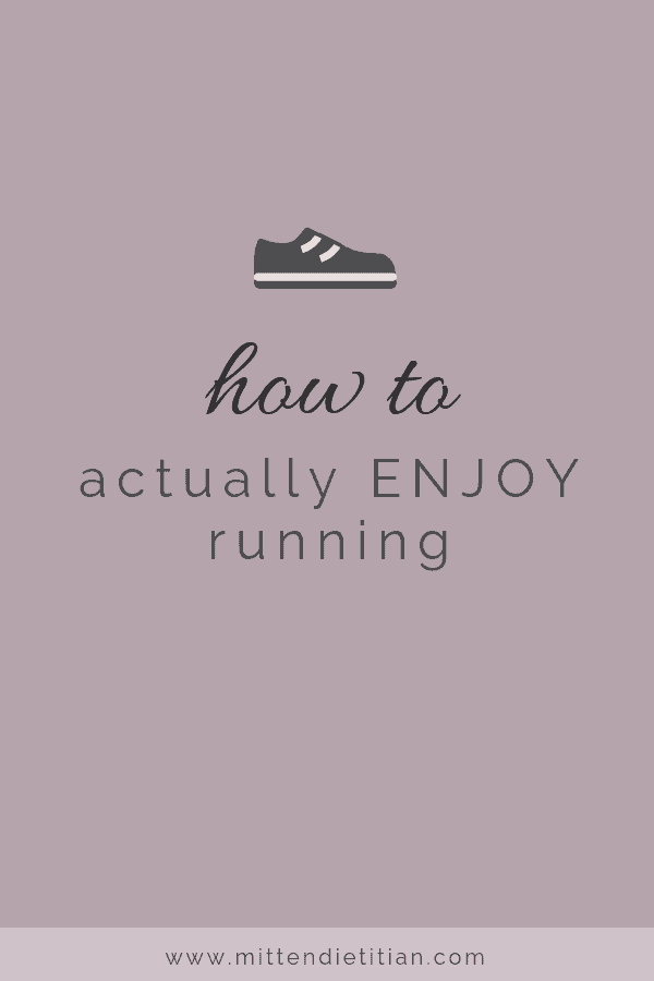 how to actually enjoy running
