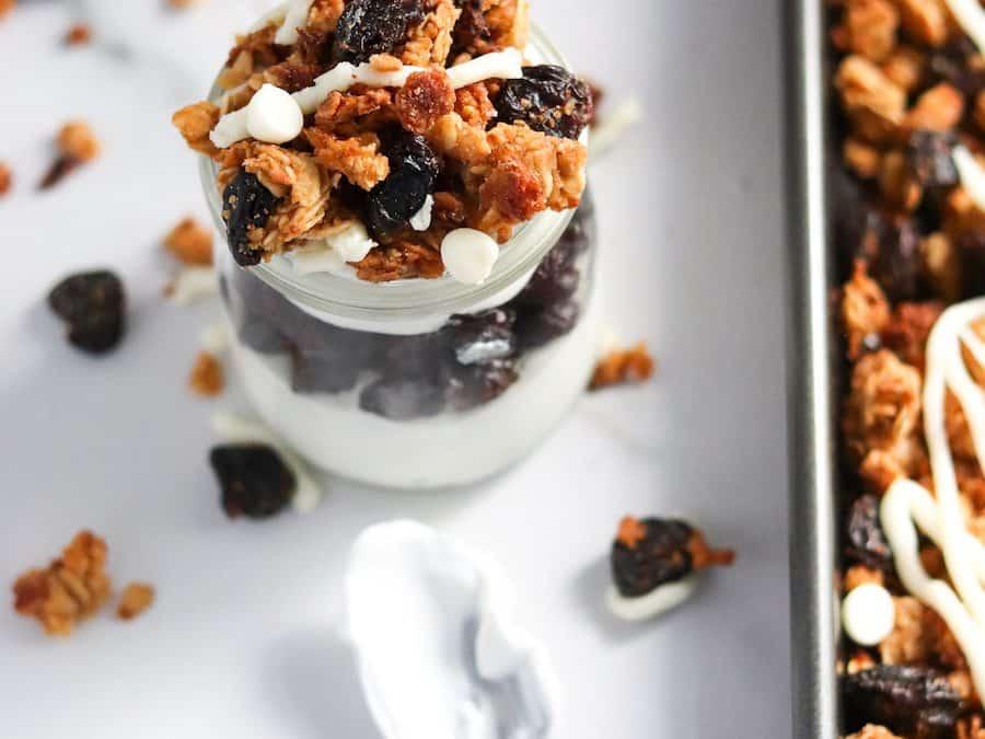 White Chocolate Cherry Granola