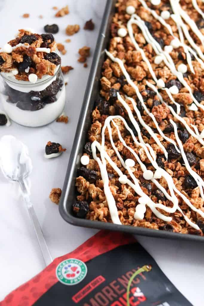 White Chocolate Cherry Granola