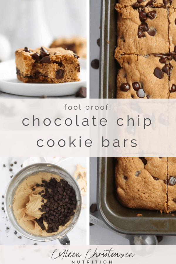 Fool Proof Chocolate Chip Cookie Bars