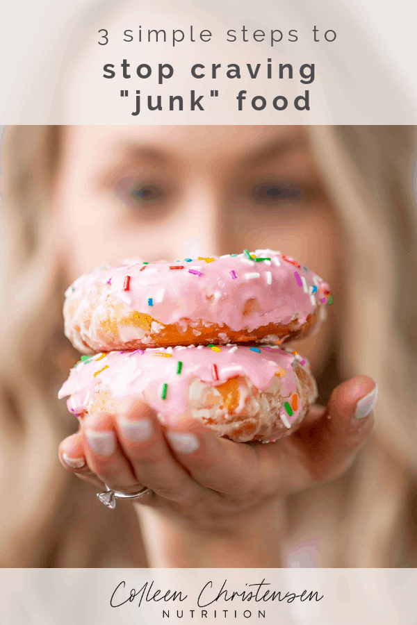 stop craving junk food in 3 steps