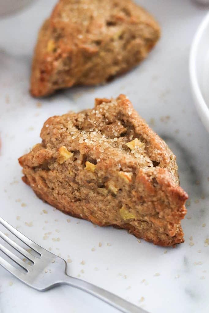 Easy apply cinnamon scones