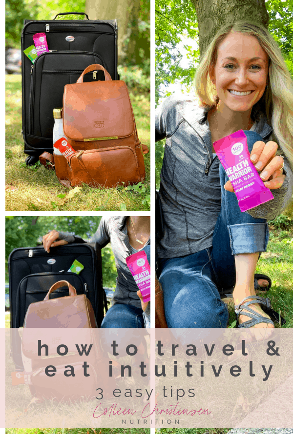 how to travel & practice intuitive eating