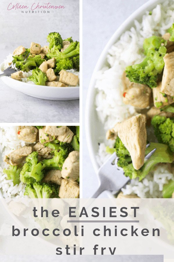 easiest broccoli chicken stir fry