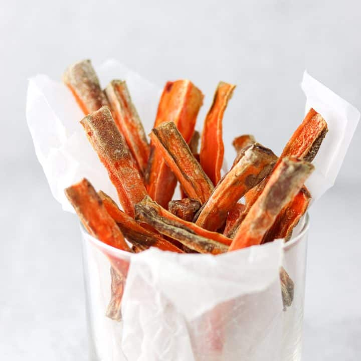 Air Fryer Carrot Fries