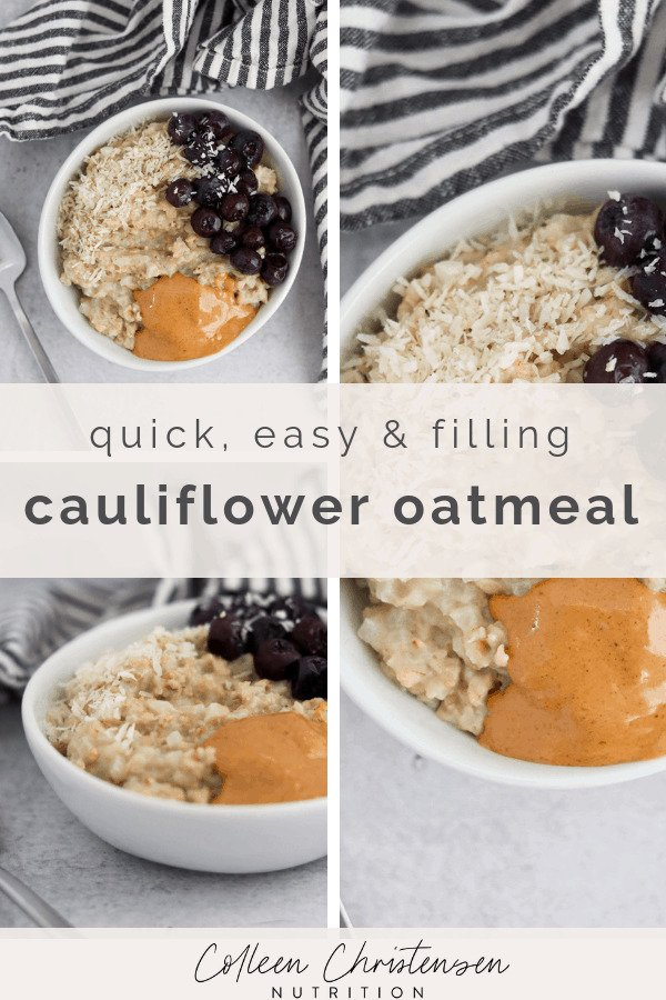 cauliflower oatmeal