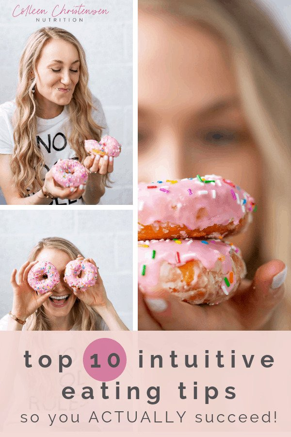 10 intuitive eating tips