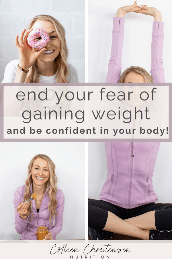 overcome your fear of gaining weight