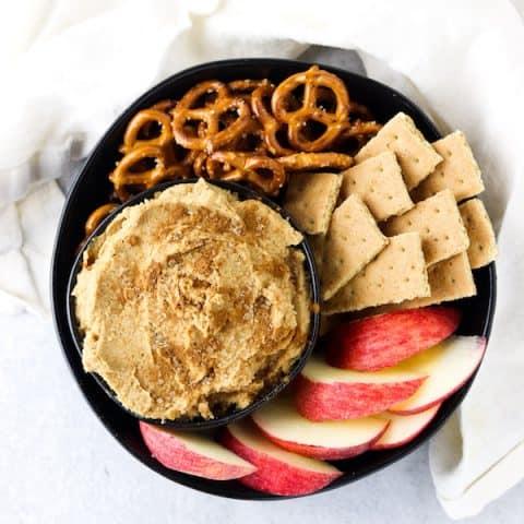 snickerdoodle hummus
