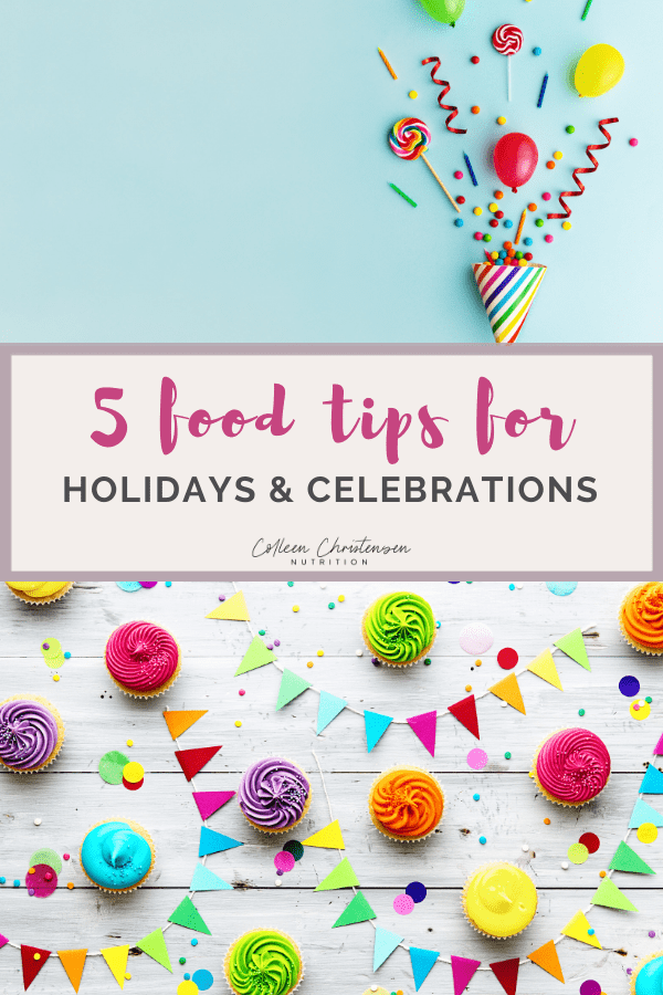 5 tips for holiday food
