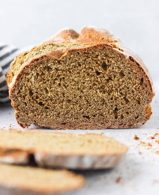 Artisan Honey Buckwheat Bread