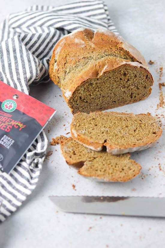 honey buckwheat bread