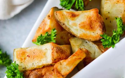 Seasoned Air Fryer Potatoes