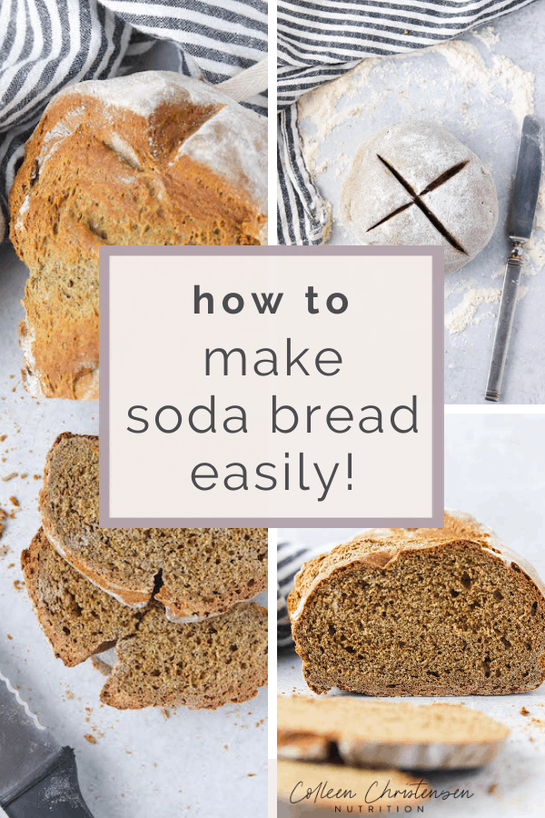 honey buckwheat bread soda bread