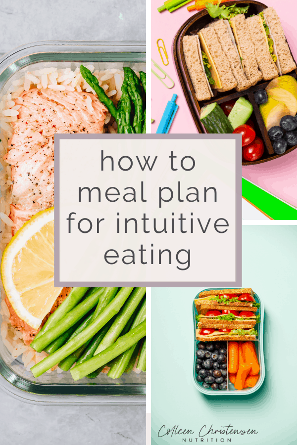 meal plan for intuitive eating