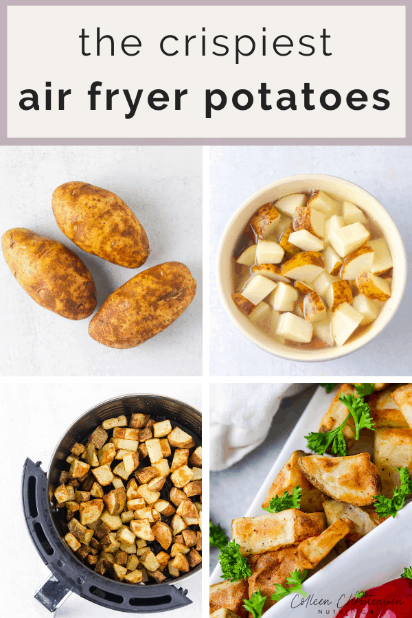 seasoned air fryer potatoes