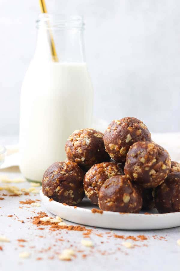 Protein Packed Chocolate Bliss Balls