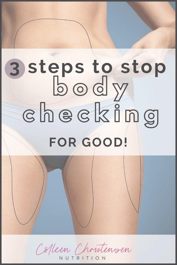 stop body checking