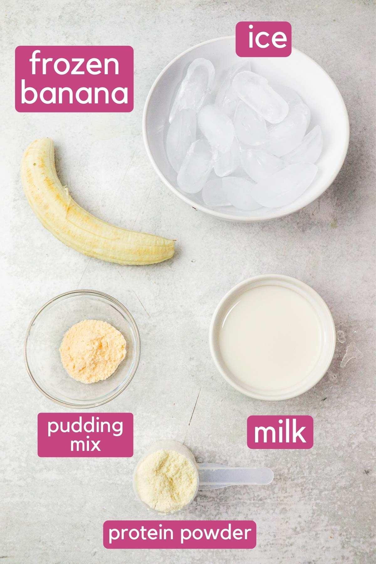 banana protein shake ingredients