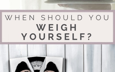 when to weigh yourself