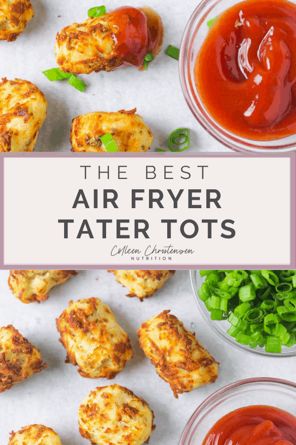 easy homemade air fryer tater tots