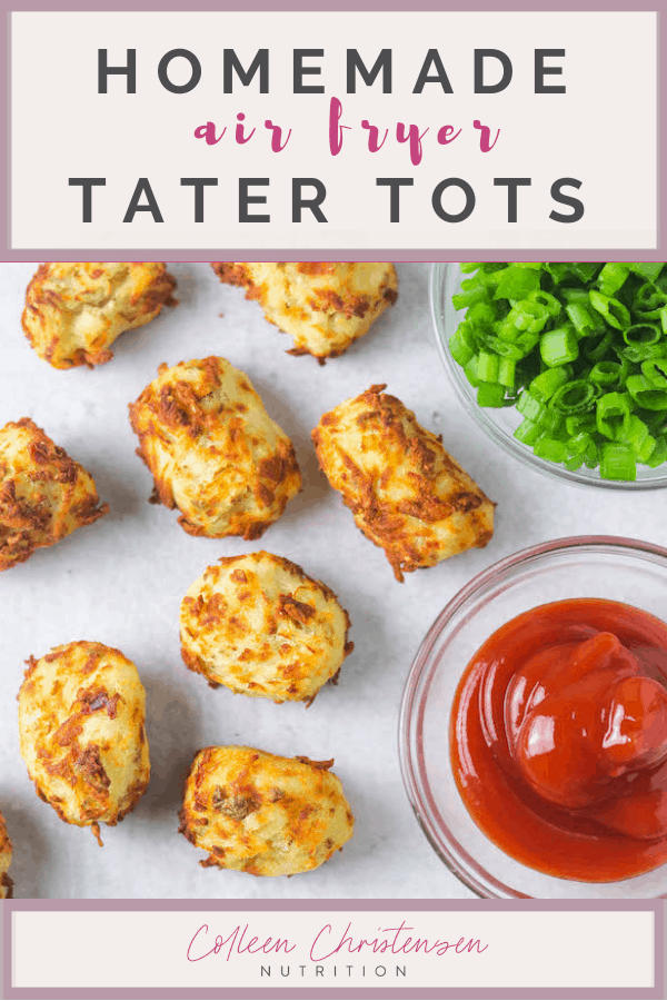 the easiest home made air fryer tater tots