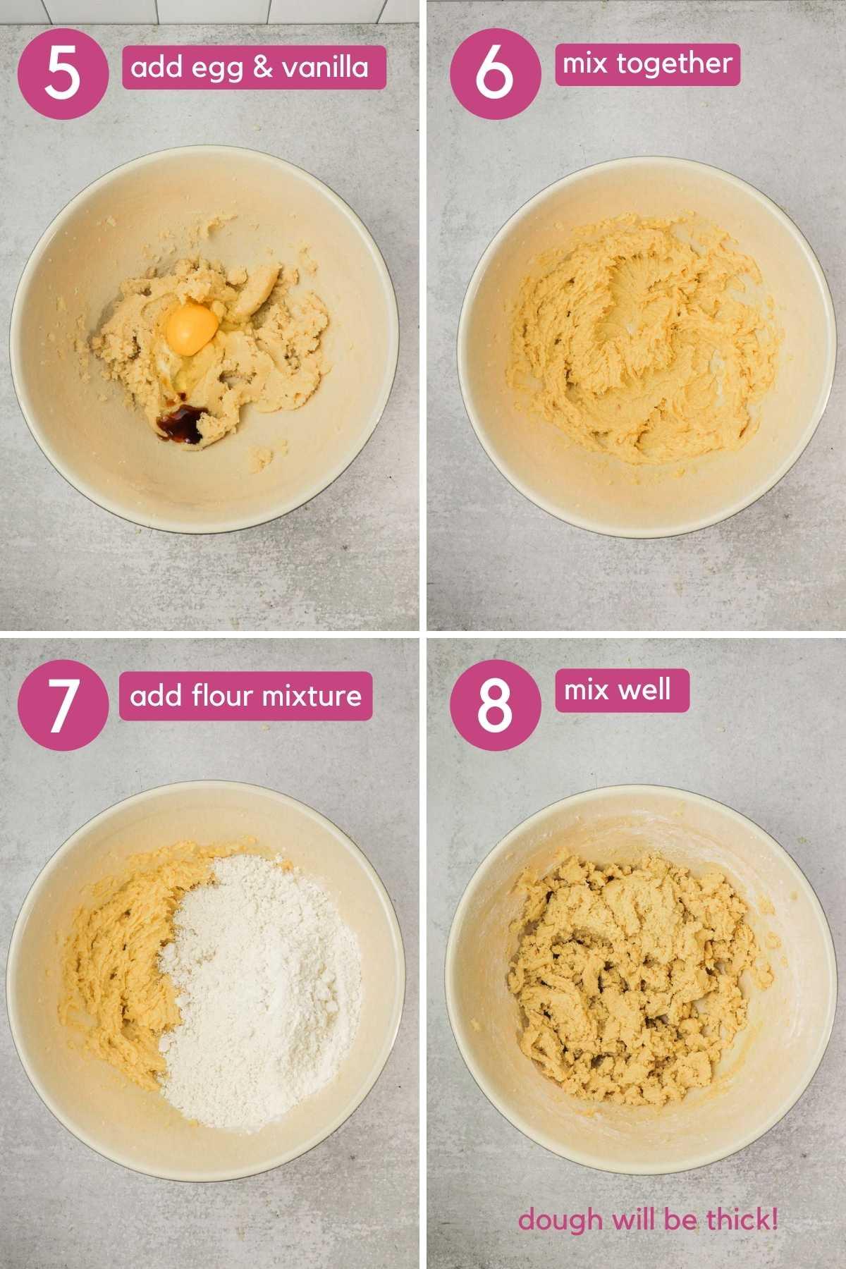 Making dough for Copycat panera kitchen sink cookies