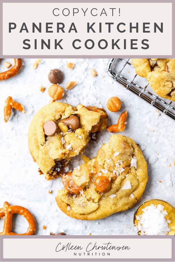 panera kitchen sink cookies