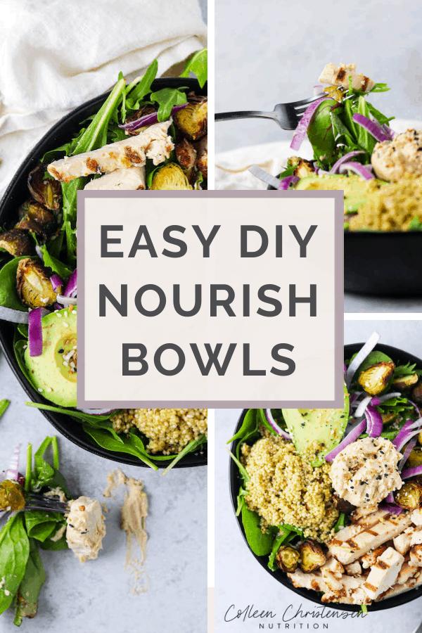 DIY Nourish bowls / Macro bowls