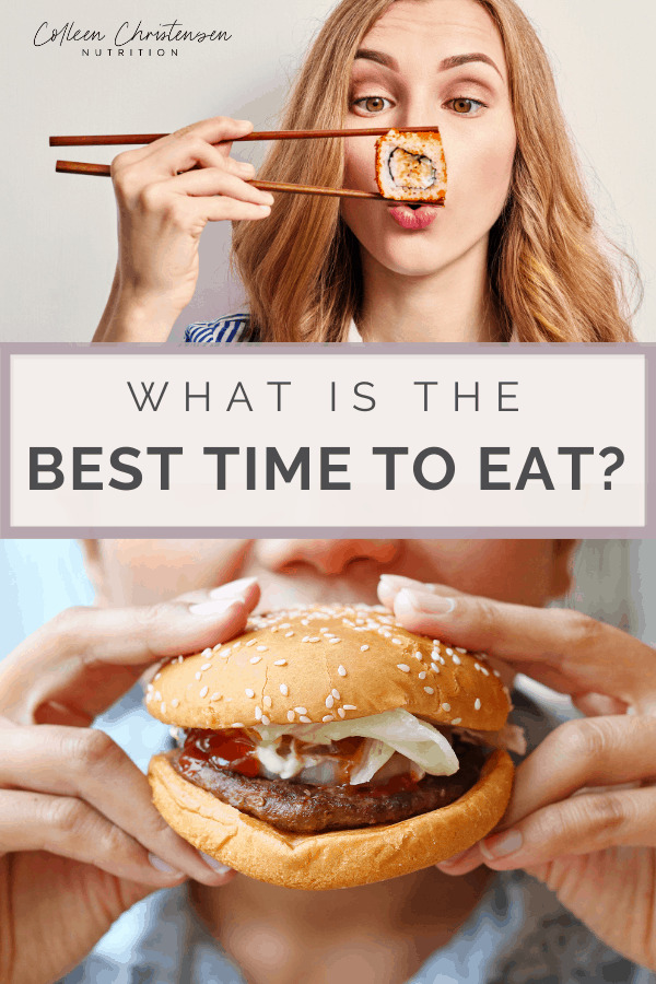 what is the best time to eat