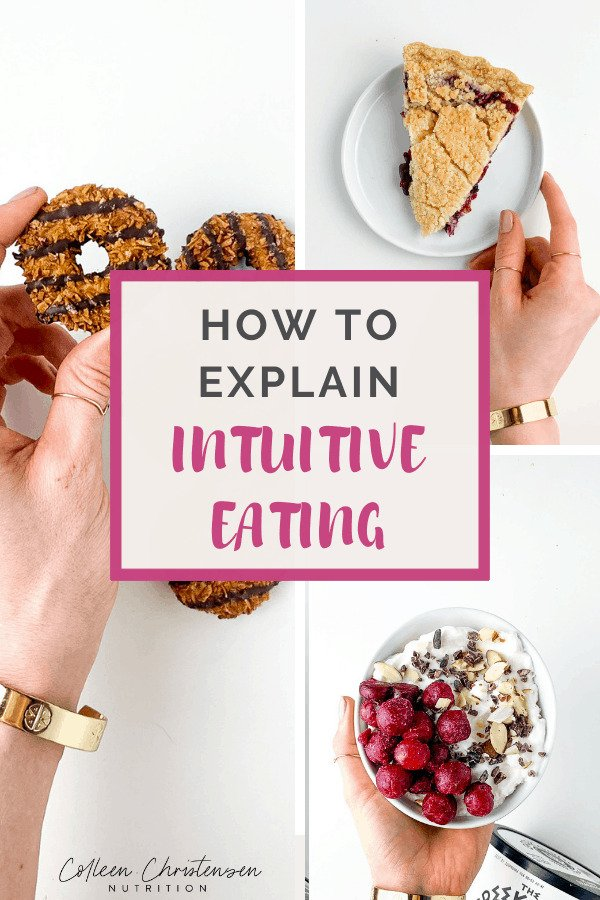 how to explain intuitive eating