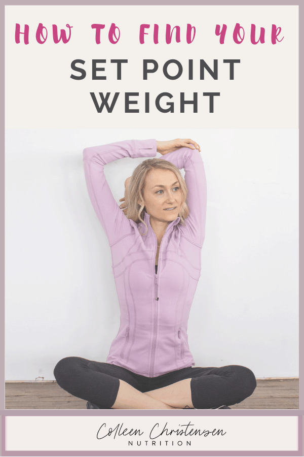 how to find your set point weight