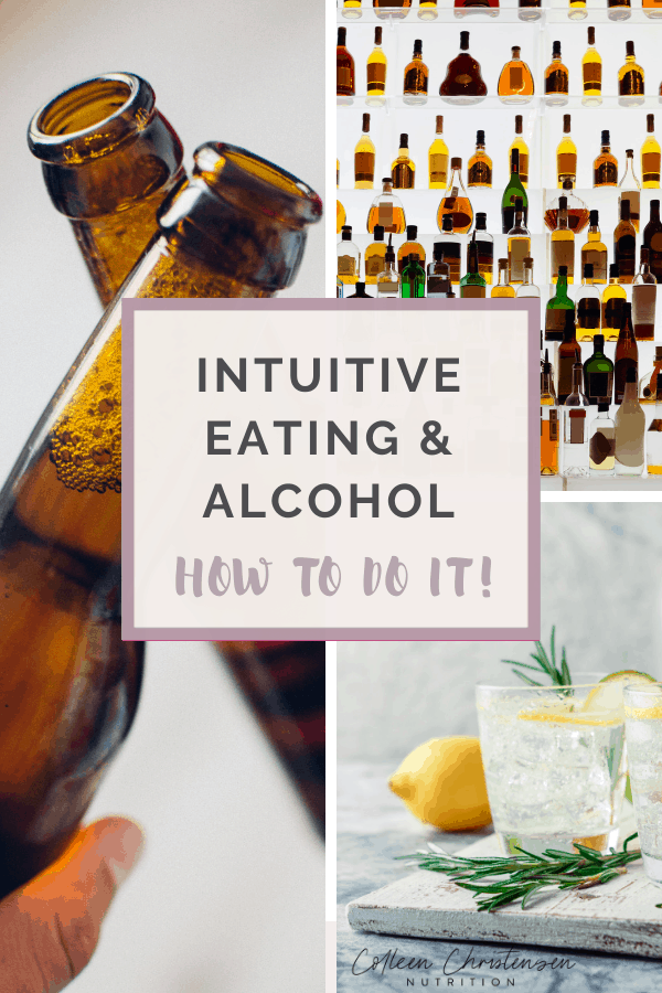 intuitive eating & Alcohol