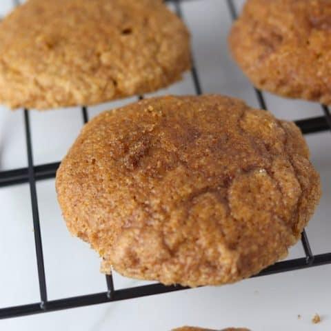 Soft Baked Pumpkin Snickerdoodles