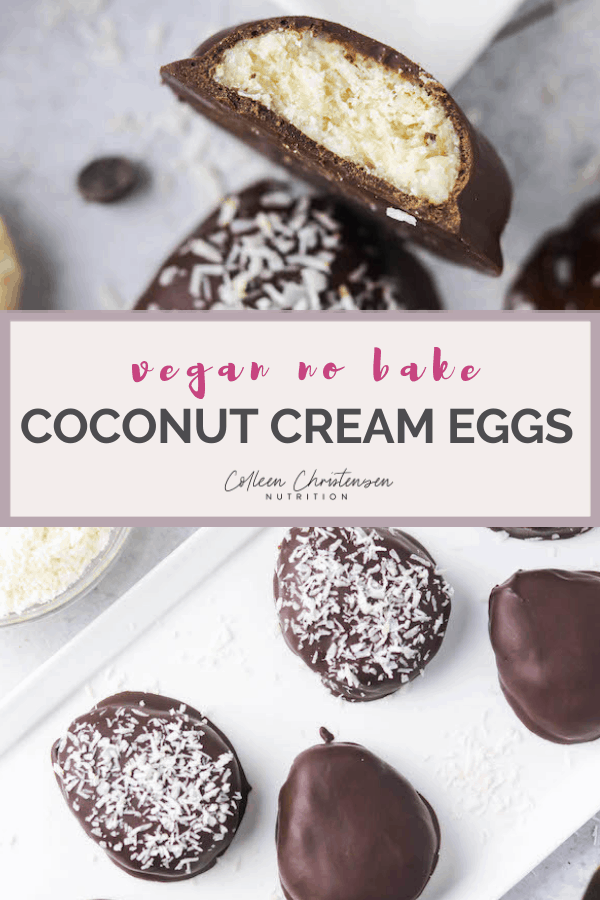 coconut cream eggs